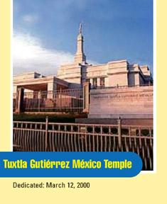 Tuxtla Gutiérrez México Temple