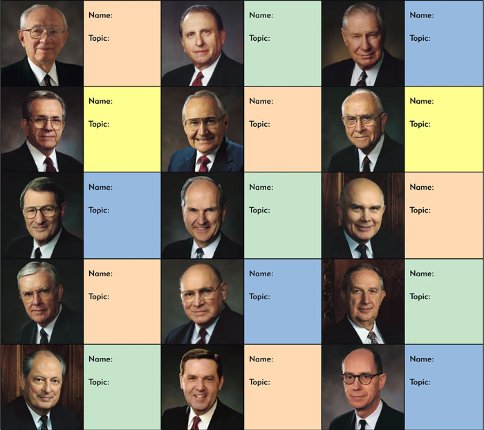 Apostles now