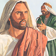 Jesus didn't like seeing those men in the temple