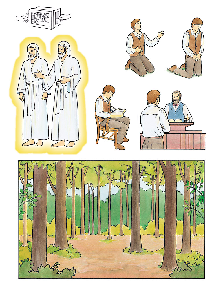 Free Joseph Smith Coloring Pages, Download Free Clip Art, Free ... | 1000x770