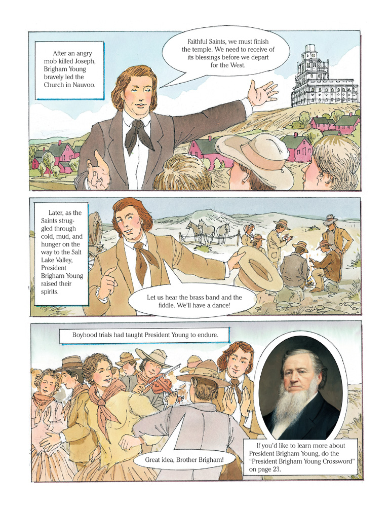 Events from the life of Brigham Young
