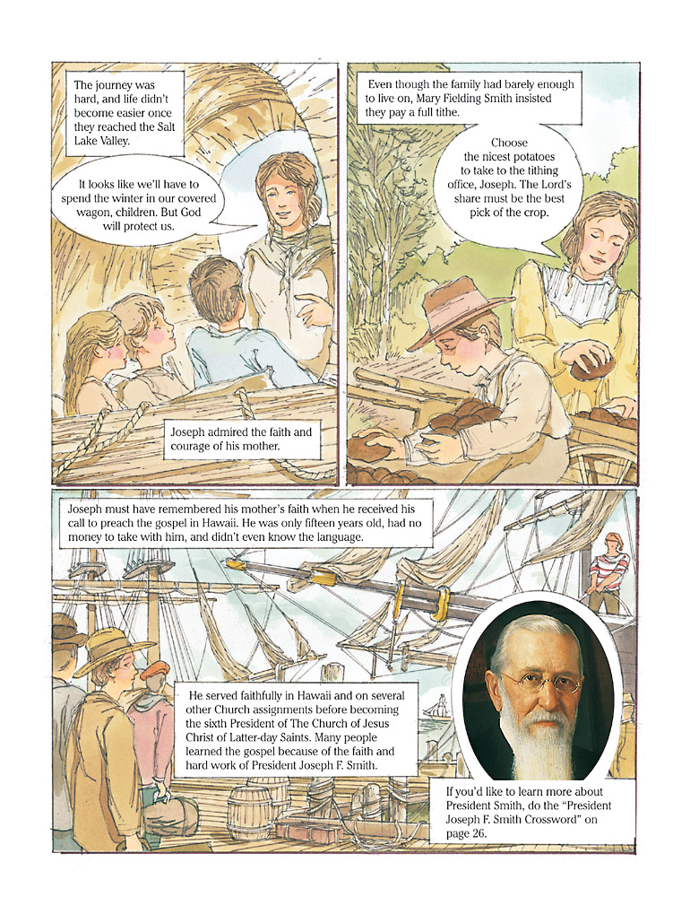 Events in the life of Joseph F. Smith