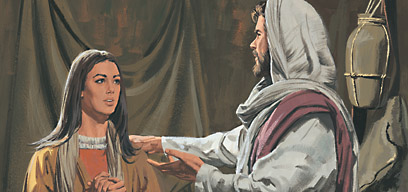 Jesus said the woman had repented