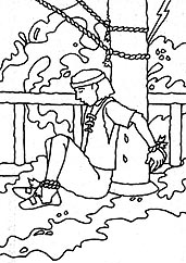 coloring pages nephi liahona - photo#6