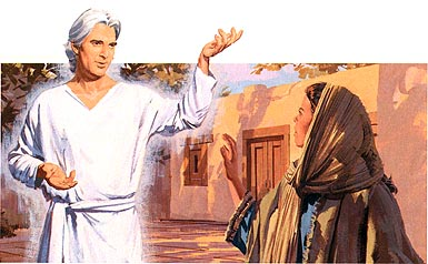 Gabriel visited Mary