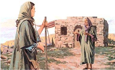 Mary visited Elisabeth