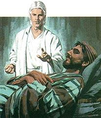 Joseph takes Mary and Jesus to Egypt