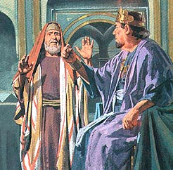 Zacharias wouldn't tell Herod where John was