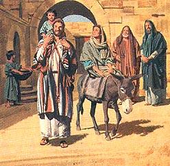 Joseph, Mary and Jesus return to Nazareth