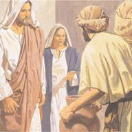 The servants did what Jesus said