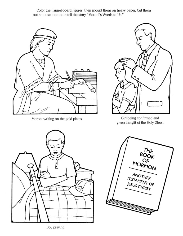 holy ghost lds coloring pages coloring pages