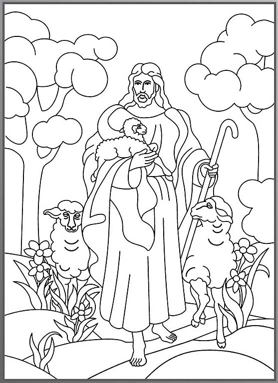 coloring page - Lds Easter Coloring Pages