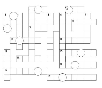 Christmas Carol Crossword