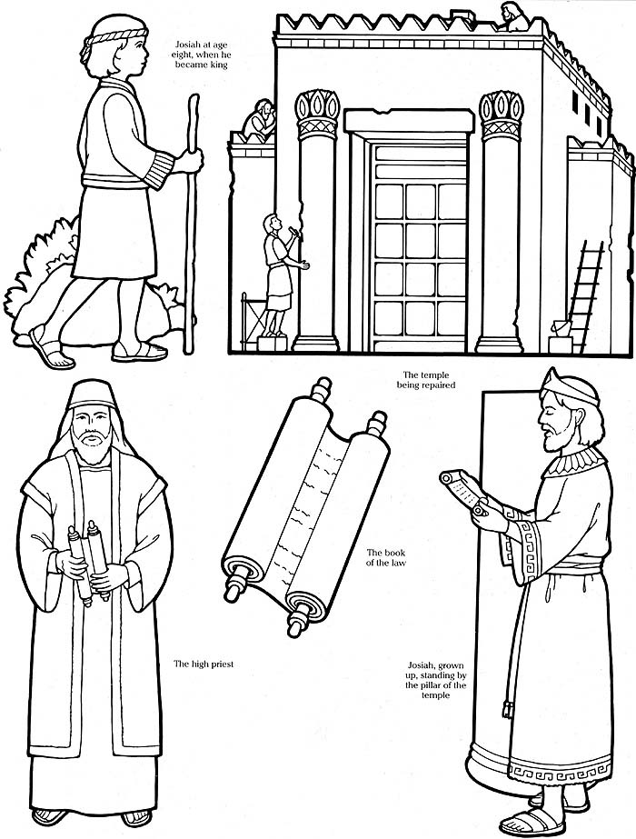 Free Coloring Pages Of Temple Of Solomon