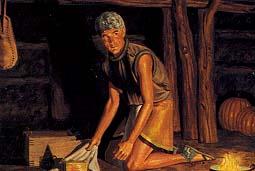Ammaron hid sacred records
