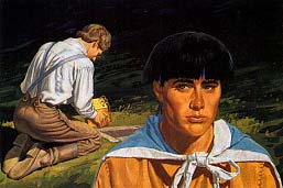 Moroni knew the gold plates would one day be taken out of the ground