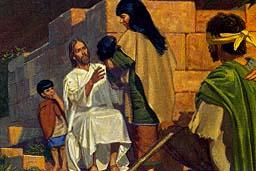 He healed many people