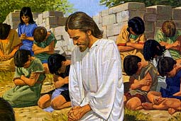 Image result for children praying to jesus
