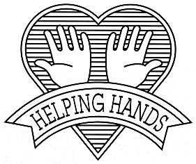 Helping Hands Badge