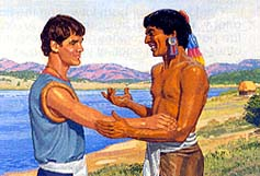 Lamanites stopped hating Nephites