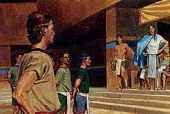 The five said everything happened as Nephi said it was