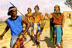 Nephites threw Samuel out
