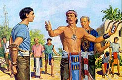 Shiblon was a brave missionary