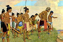 Lamanites were afraid of the Nephites