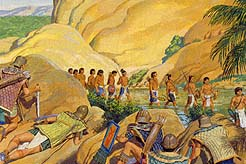 His soldiers trap the Lamanites