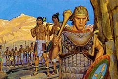 Amalickiah gathered army of Lamanites to attack Nephites
