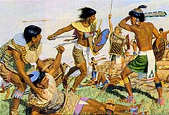 They fought the Lamanites several times