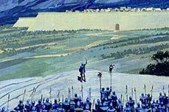 Pahoran gathering army to retake Zarahemla