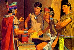 Wicked Nephites were joining Lamanites