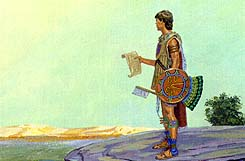 He asked Moroni to bring some men to help recapture Zarahemla
