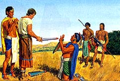 Ammon could kill Lamoni's father