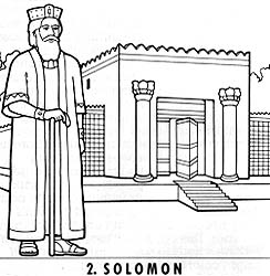 The lord commands his people to build temples friend for Building the temple coloring pages