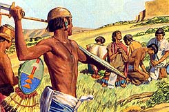 Lamanites killed many