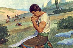 Ammon prayed for help