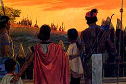 People of Ammon helped righteous Zoramites