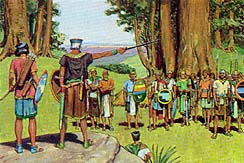 Amlici lost and he ordered his followers to fight the Nephites