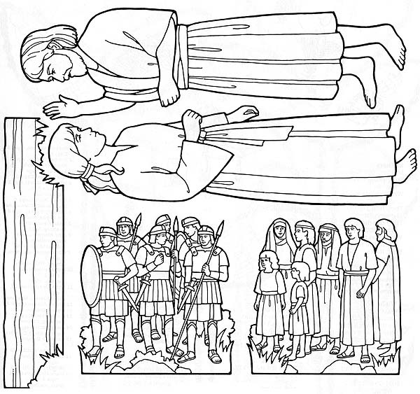 Waters Of Mormon Coloring Pages