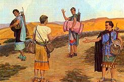 Sons of Mosiah teach the Lamanites