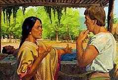 Lamoni's wife asked Ammon for help