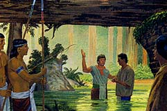 Lamoni taught his people about God and Jesus
