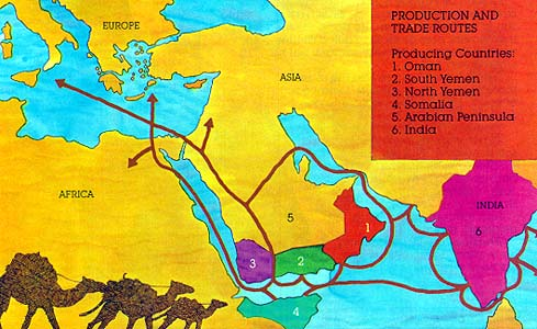 Map of Holy Land