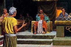 Priests tried to trick Abinadi