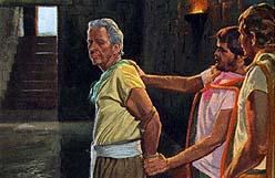 Abinadi thrown into prison