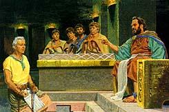 Abinadi spoke with Noah again