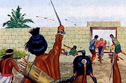 Some Nephites opposed the king