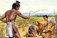 Lamanites cruel to Nephites
